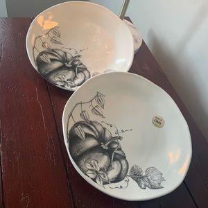 Italian Pumpkin Plates